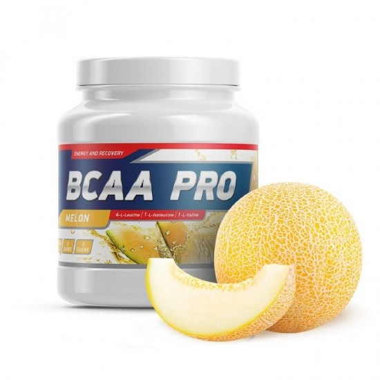 GENETICLAB BCAA 411 Powder 500 г, Дыня