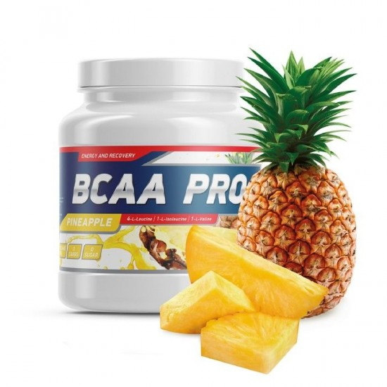 GENETICLAB BCAA Pro Powder 500 г, Ананас