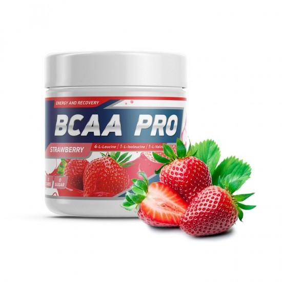 GENETICLAB BCAA Pro Powder 250 г, Клубника