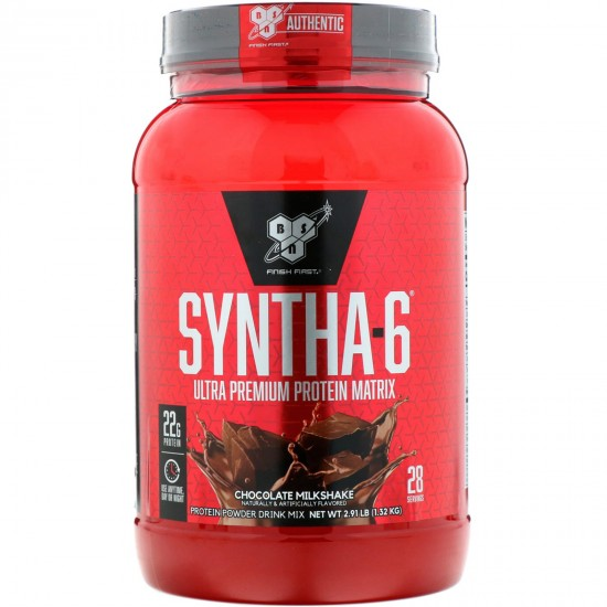 BSN Syntha-6 1,32 кг, Шоколадный молочный коктейль