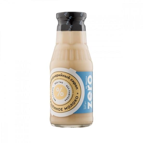 MR. DJEMIUS Zero Низкокалорийный Сироп 330 мл, Сгущенное молоко