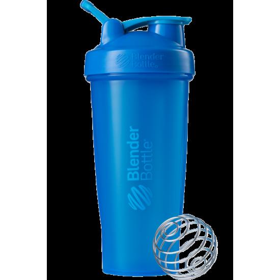 BLENDER BOTTLE Шейкер SportMixer 828 мл, Синий