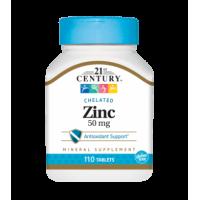 21ST CENTURY Zinc 50mg 110 табл