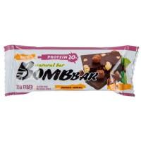 Bombbar Протеиновый батончик 60г, шоколад с фундуком