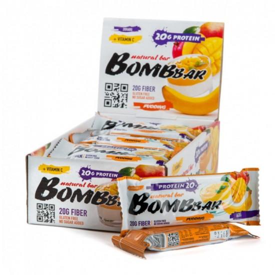 Bombbar Протеиновый батончик 60г, банан-манго