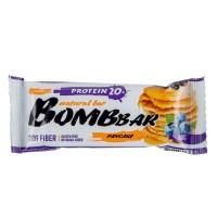 Bombbar Протеиновый батончик 60г, смородиново-черничный панкейк