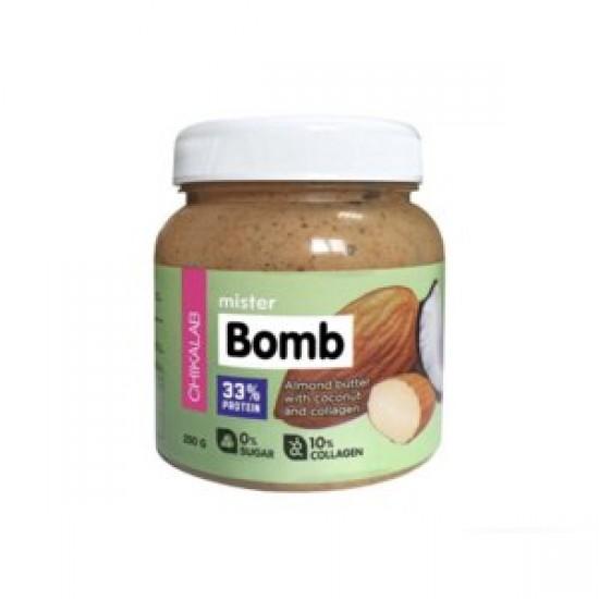 CHIKALAB Миндальная паста с кокосом Mister BOMB 250 гр