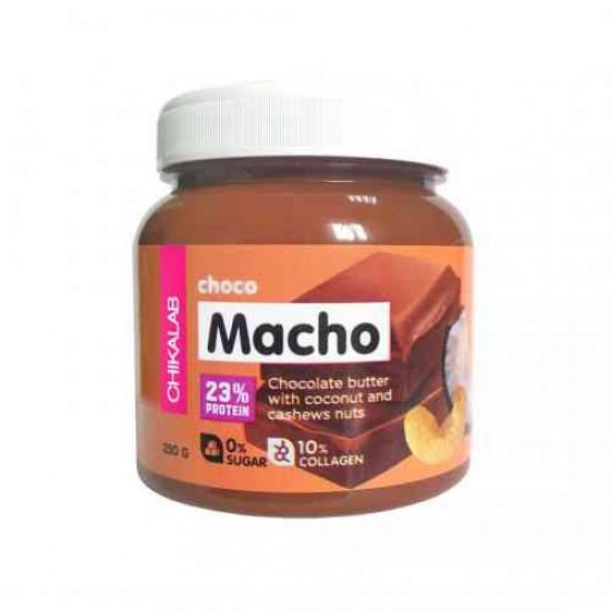 CHIKALAB Шоколадная паста с кокосом и кешью 250 гр