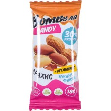 BOMBBAR протеиновая конфета 18г, Арахис