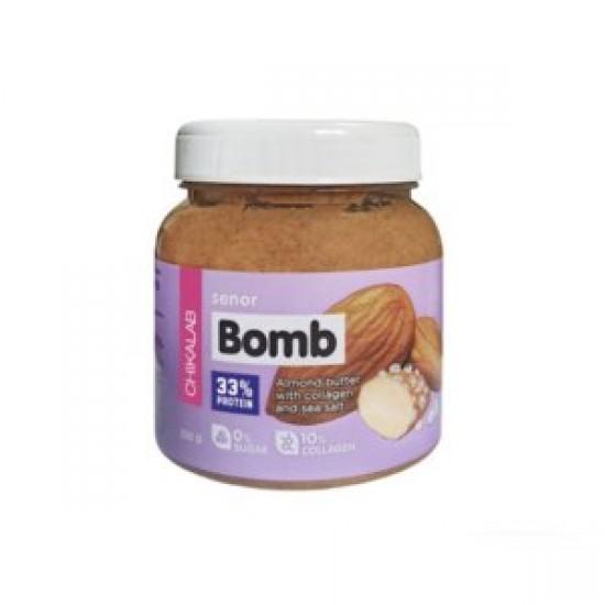 CHIKALAB Миндальная паста с морской солью SENOR BOMB 250 гр