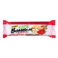 BOMBBAR мультизлаковый батончик 45г, Клубника