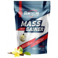 GENETICLAB MASS GAINER 1кг, Ваниль