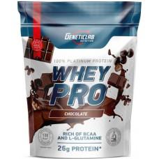 GENETICLAB Whey Pro 900г, Шоколад