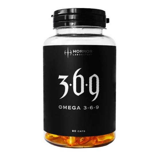 HORROR Lab Omega 3-6-9 90 капс