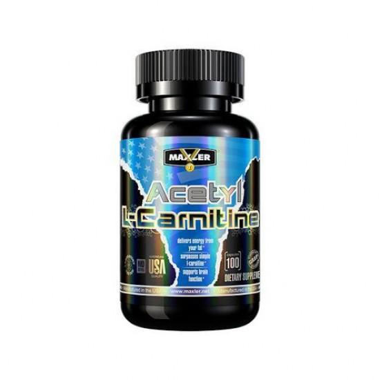 MAXLER Acetyl L-Carnitine 100 кап
