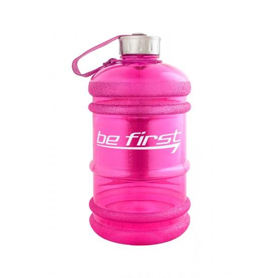 BE FIRST Бутылка для воды 2200мл, Розовая