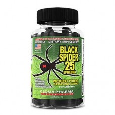 CLOMA PHARMA Black Spider 100 кап