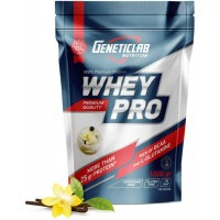 GENETICLAB Whey Pro 2,1 кг, Ваниль