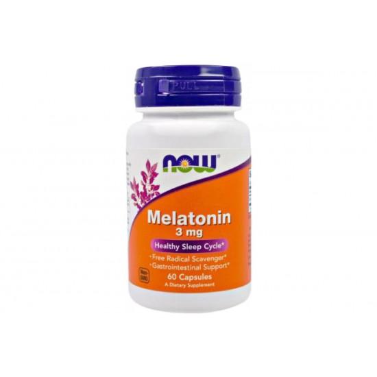 NOW Melatonin 3 мг 60 кап