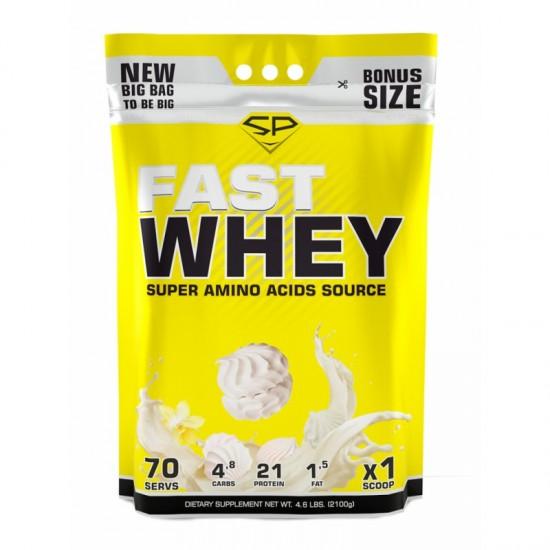 STEEL POWER Fast Whey Protein 2100г, Ванильный зефир