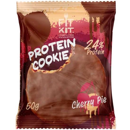 FIT KIT Protein Cookie 50гр, Вишневый пирог