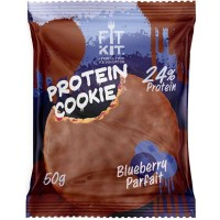 FIT KIT Protein Cookie 50гр, Черничное парфе
