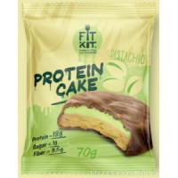 FIT KIT PROTEIN CAKE 70гр, Фисташковый крем