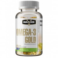 MAXLER Omega-3 Gold 120 кап,