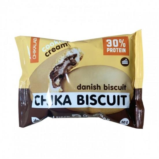 CHIKALAB Печенье неглазированное с начинкой 50 гр, Бисквит датский