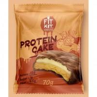 FIT KIT PROTEIN CAKE 70гр, Арахисова паста