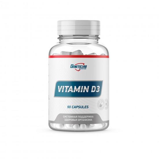 GENETICLAB VITAMIN D3 600ME 90кап,