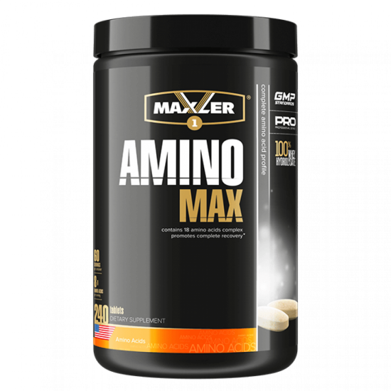 MAXLER Amino Max Hydrolysed 240 таб,