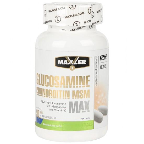 MAXLER Glucosamine-Chondroitin-MSM MAX 90 таб,