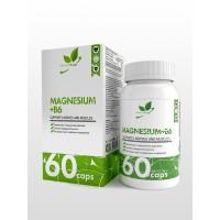 NaturalSupp MAGNESIUM+B6 60капс,