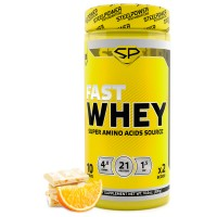 STEEL POWER Fast Whey Protein 300г, Апельсиновое фондю