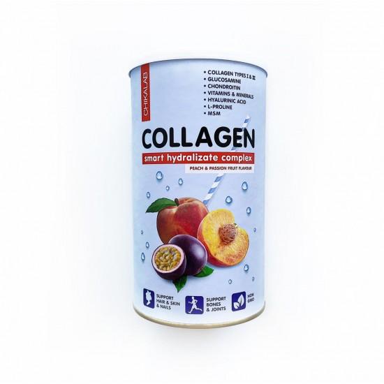 CHIKALAB Collagen 400г, Персик-маракуйя