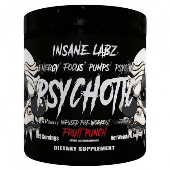 INSANE LABZ Psychotic Black 35 порц, Фруктовый пунш