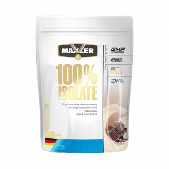 MAXLER 100% ISOLATE 900 г, швейцарский-шоколад