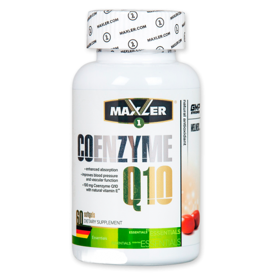 MAXLER Omega-3 Coenzyme Q10 60 кап,