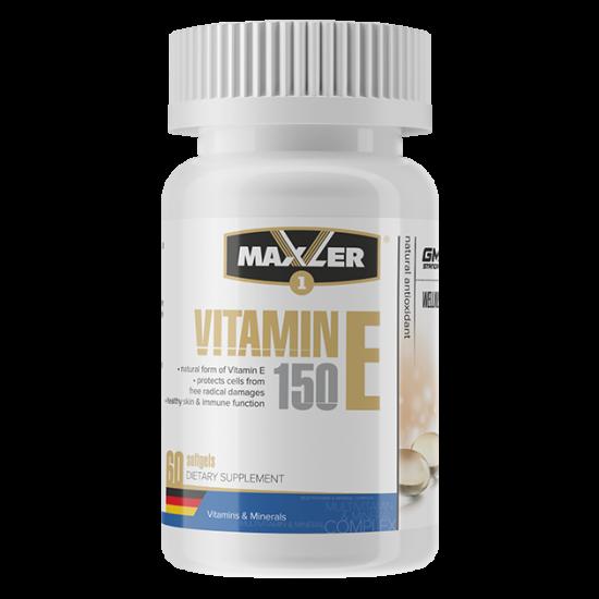 Maxler Vitamin E 150mg 60 softgel,