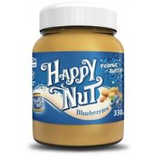 Арахисовая паста Happy Nut с черникой 330г,
