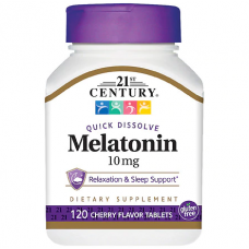 21ST CENTURY Melatonin 10mg 120 табл,