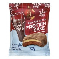 FIT KIT PROTEIN CAKE 70гр, Кола