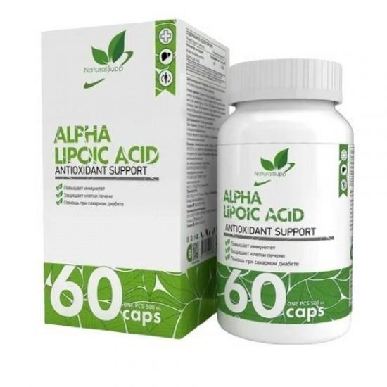 NaturalSupp ALPHA LIPOIC ACID 60капс,