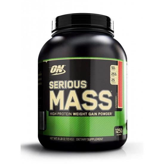 OPTIMUM NUTRITION Serious Mass 2.72 кг, Клубника