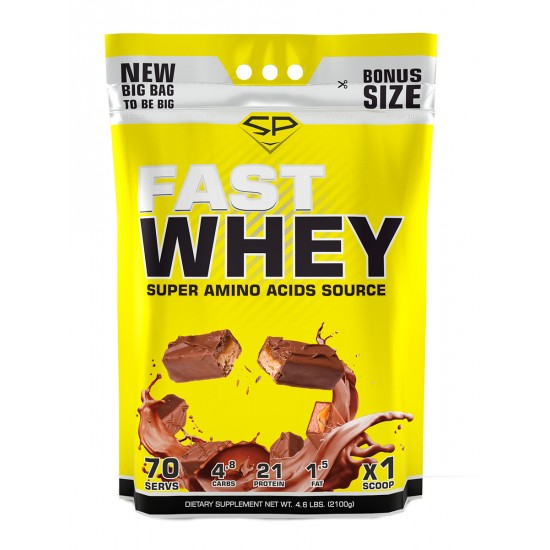 STEEL POWER Fast Whey Protein 2100г, Марс