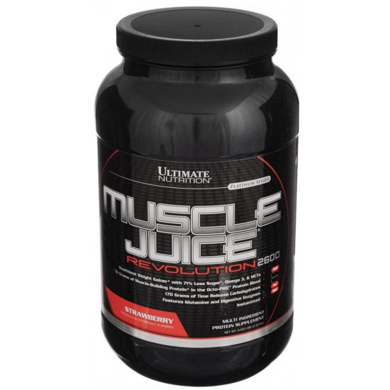 ULTIMATE Muscle Juice Revolution 2,12 кг, Клубника