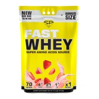 STEEL POWER Fast Whey Protein 2100г, Клубника