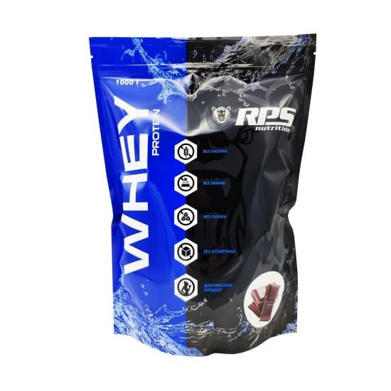 RPS Whey Protein 1000 г, Двойной шоколад