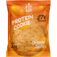 FIT KIT Protein Cookie 40гр, Апельсиновый сок